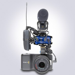 High Performance Audio Setup For the Black Magic Pocket Camera with the MCC-2