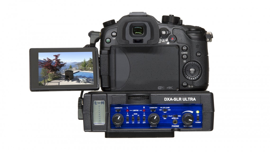 Panasonic GH4 audio and Beachtek DSL_SLR ULTR