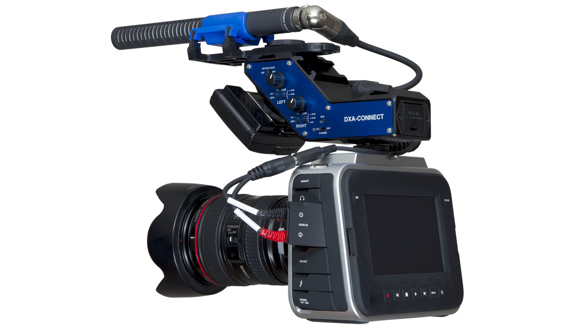 Using Mics With The Blackmagic Cinema Camera - Beachtek