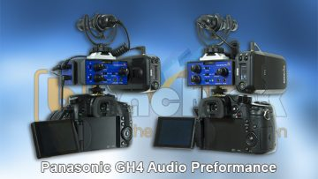 Panasonic GH4 Audio Performance
