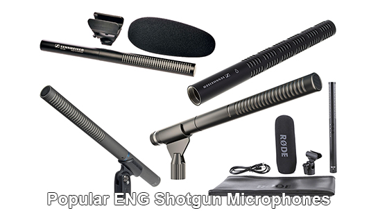 Popular ENG Shotgun Microphones
