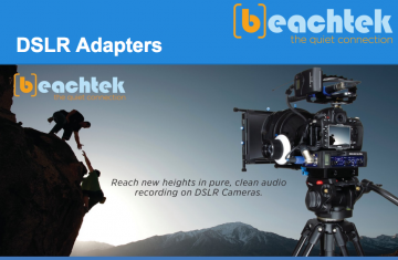 Beachtek Excellence in Audio eBook - DSLR Adapters Guide - COVER