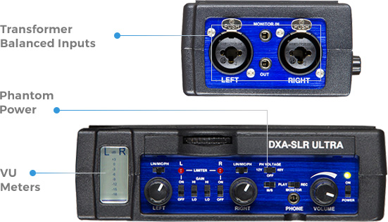 Independent Beachtex Dxa-slr Active Audio Adapter Audio For Video Video Production & Editing